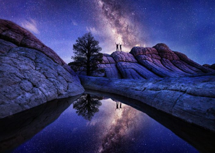 FIAP Honorable mention Two in the Galaxy-USA Arizona_Alexey SULOEV - RUSSIAN FEDERATION